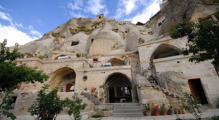 Traditional, family-run cave pension #VilllageCaveHouse is in #Goreme #Cappadocia. Geleneksel ve aile tarafından işletilen mağara pansiyon #VilllageCaveHouse, #Göreme 'nin #Kapadokya bölgesindedir. http://www.villagecavehouse.com/  #VilllageCaveHouse #Göreme #Kapadokya #Cappadocia #breakfast #kahvaltı #pension #cave #dağ #pansiyon #hotel #traditional #Turkey #volcanicrock #teras #terrace #garden #bahçe