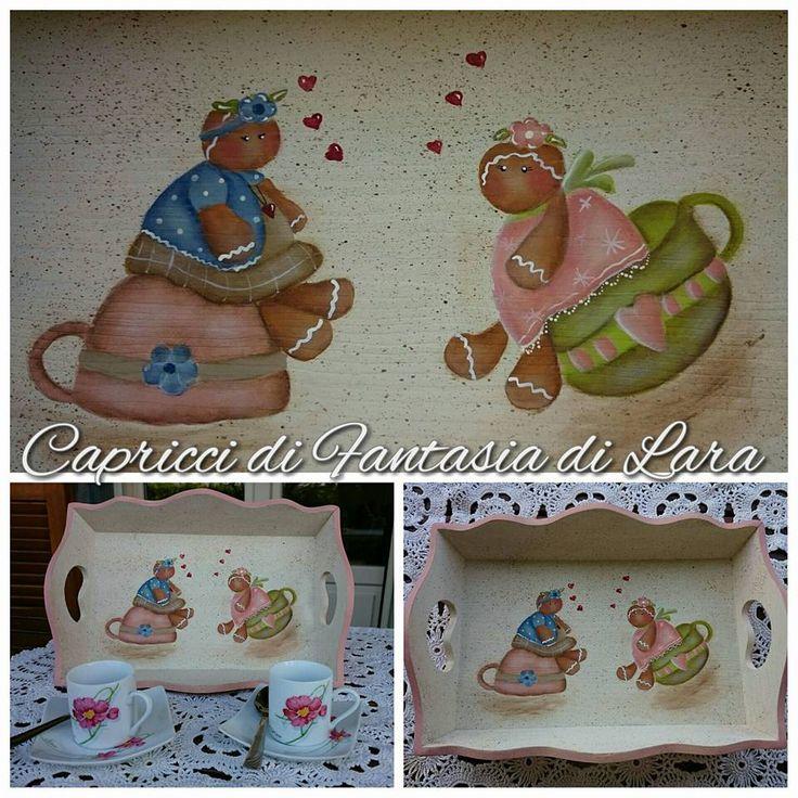 Un pattern delizioso di Rosanna Zuppardo dipinto da me