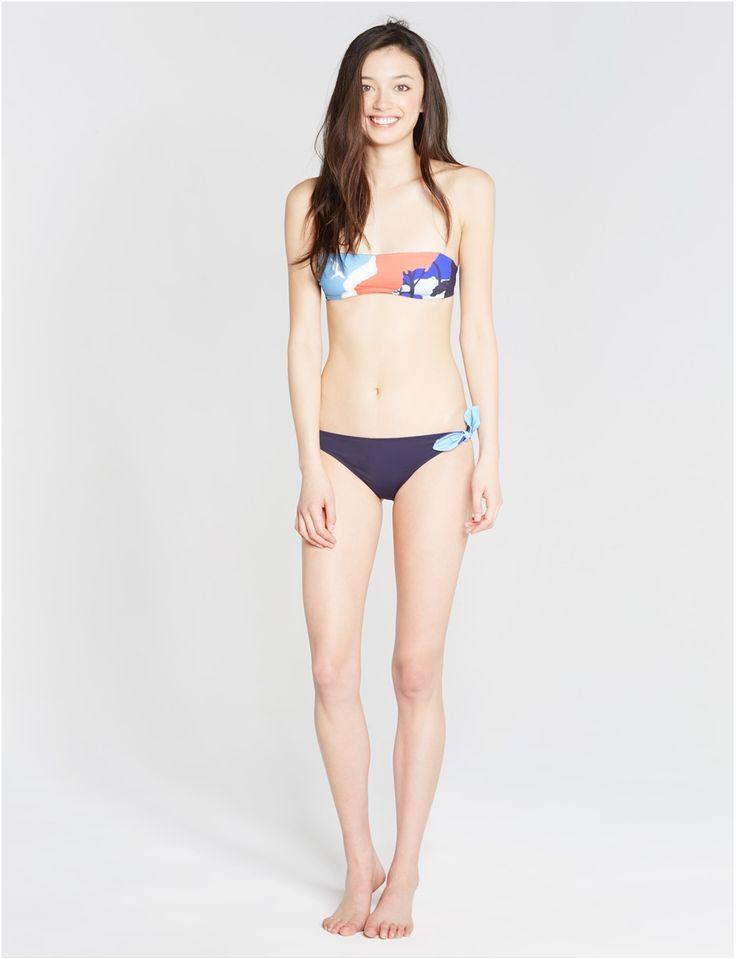 Bandeau de bain sans armature Multicolore - Maxime