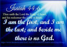 KJV what would Jesus do site:pinterest.com | Isaiah 44:6 King James Version…