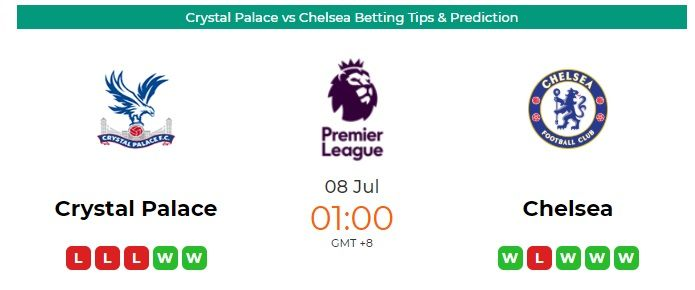 Crystal Palace Vs Man United Betting Tips Prediction In 2020 Crystal Palace Chelsea Match League Table