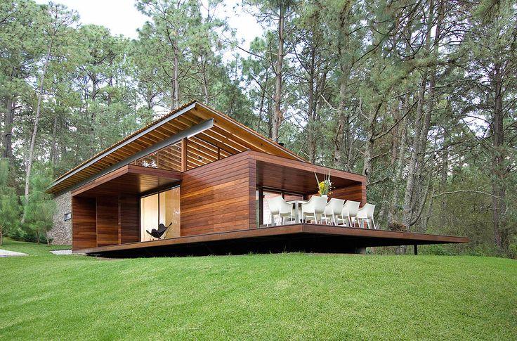 Foto casa de campo moderna