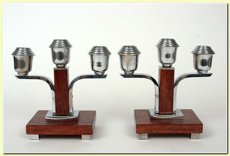 candlesticks - ART-DECO