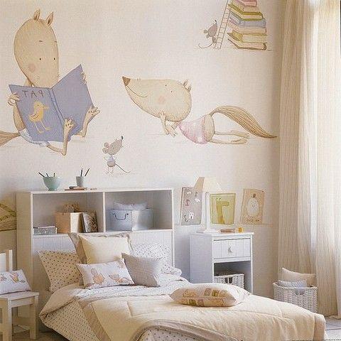 Как украсить стены в детской комнате (38 фото) | Детская | DecorWind.ru