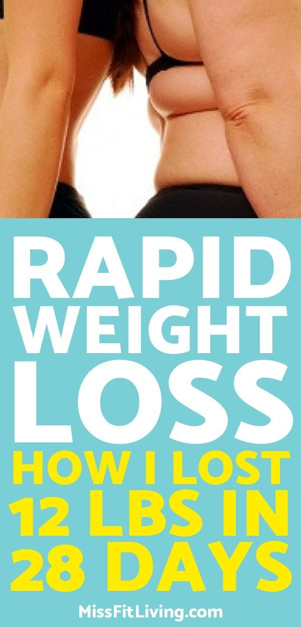 Rapid Weight Loss: How I Lost 12 lbs in 28 Days Without Sacrificing My Happiness
