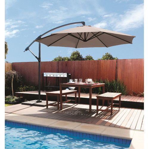 Best 25+ Cantilever Patio Umbrella Ideas On Pinterest | Cantilever