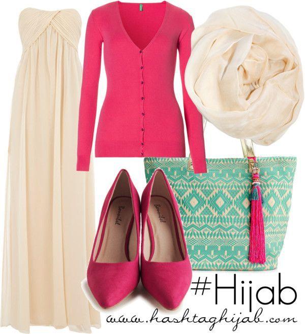 Hijab Fashion 2016/2017: Hashtag Hijab Outfit #271  Hijab Fashion 2016/2017: Sélection de looks tendances spécial voilées Look Descreption Hashtag Hijab Outfit #271