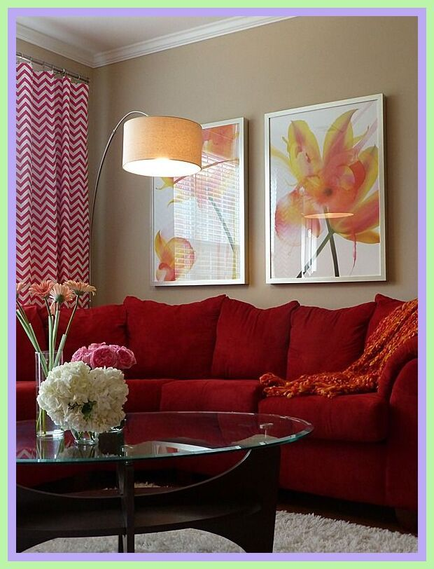 42 Reference Of Red Sofa Living Room Decor In 2020 Red Sofa Living Room Red Couch Living Room Contemporary Living Room Red