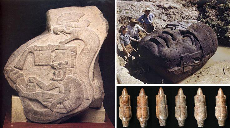 ольмеков-глав-древние-пришельцы-пирамида