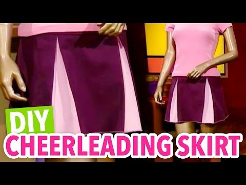 DIY Cheerleading Skirt - Throwback Thursday - HGTV Handmade - YouTube
