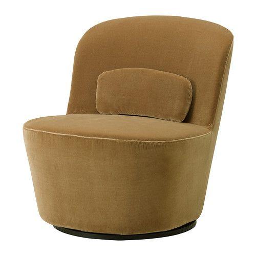 СТОКГОЛЬМ Вращающееся кресло - Сандбакка темно-бежевый - IKEA