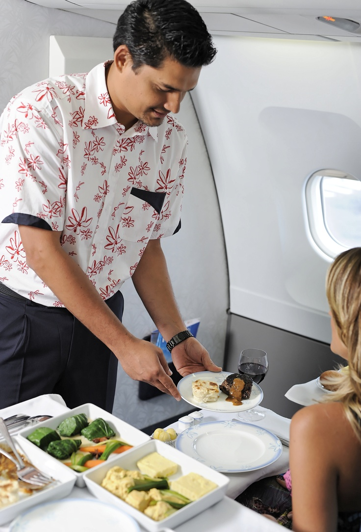 Air Tahiti Nui   Poerava First Class service
