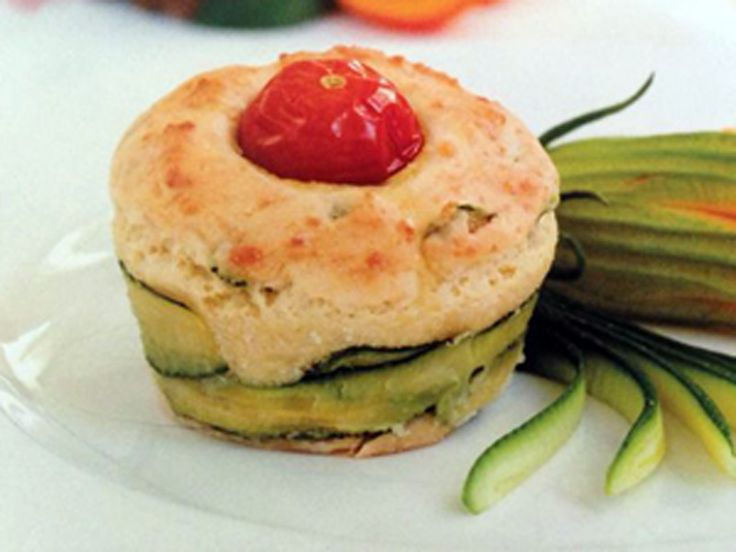 Minimuffin con ricotta e zucchine - Mini muffin with ricotta cheese and zucchini  http://arrangerchef.com/?page_id=307