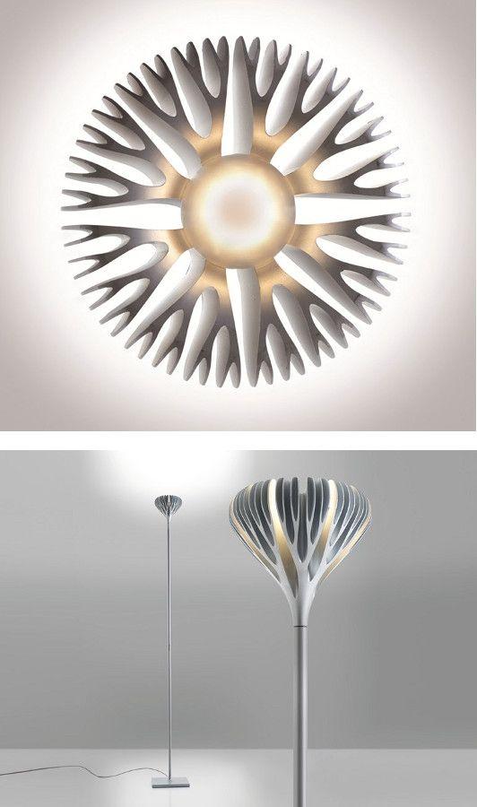 Zamak floor #lamp by ARTEMIDE | #design Ross Lovegrove