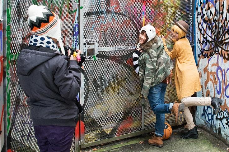Urban London South Bank Fashion Shoot - Steve Middlehurst