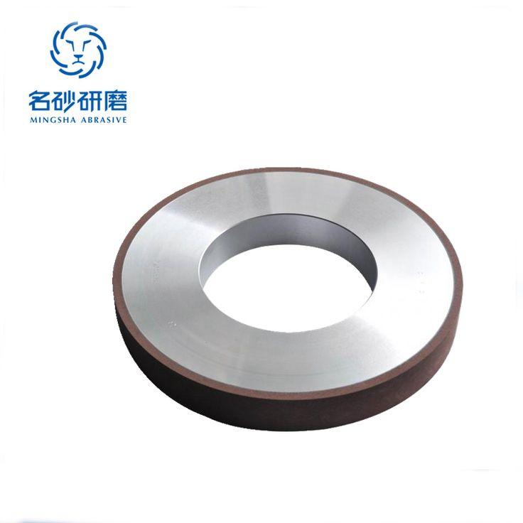Resin bond diamond centerless grinding wheel for sharpening carbide tools,1A1 flat diamond grinding