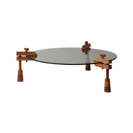 Grampo Coffee Table by Fernando Mendes