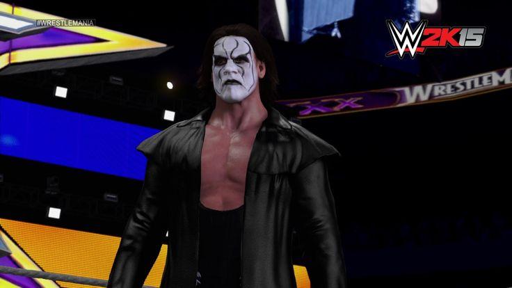 WWE 2K15 DLC: Sting and Hulk Hogan