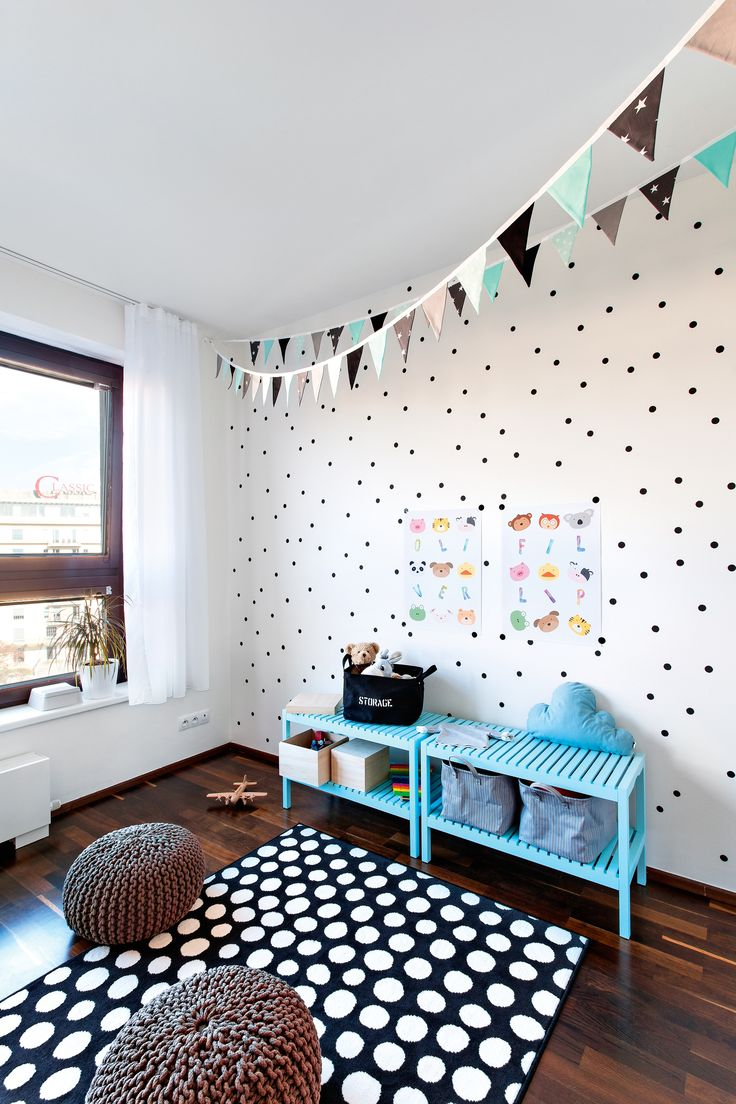 Transformations of the children´s room in collaboration with the magazine NOVÉ PROMĚNY BYDLENÍ. Interior design: Lenka Damová, photo: Pavel Bílek