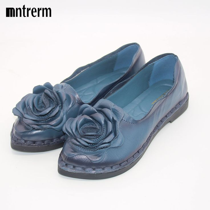 shoe cream Picture - More Detailed Picture about 2016 Retro Shoe For Women Handmade Shoes Genuine Leather Soft Safe Flats Autumn Driving Shoes Pointed Toe Women Flats 5 Color Picture in Women's Flats from xiuteng Quality Store | Aliexpress.com | Alibaba Group