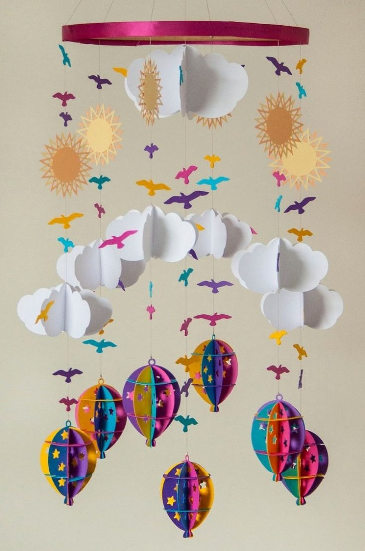 Kinderzimmer Kreative Ideen Fur Mobile Basteln Zum Selbermachen