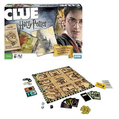 I've never played Clue, but a Harry Potter version has to be fun! (This is apparently another type of Harry Potter game that resembles Clue: http://aboardgameaday.blogspot.com/2012/08/harry-potter-and-sorcerers-stone.html) -SvH
