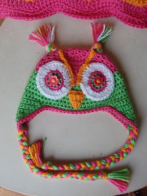 Free Pattern Crochet Owl Hat : FREE owl hat crochet pattern!!! crochet Pinterest