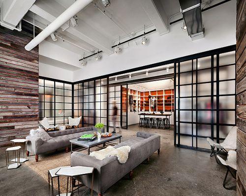 Vintage Loft Design In Soho New York New York | ... Shot At Shopbop