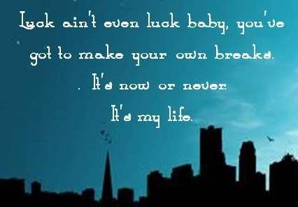 Bon Jovi ~ It's My Life