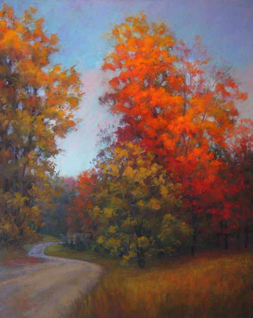 A Splendid Morning #tree #landscape #art