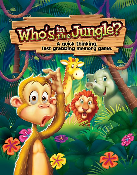 Who's In The Jungle? © Jim Talbot #illustration