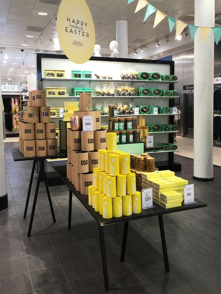 @simplychocolate #Copenhagen #Easter #Retail #Shop #Chocolate #Magasin