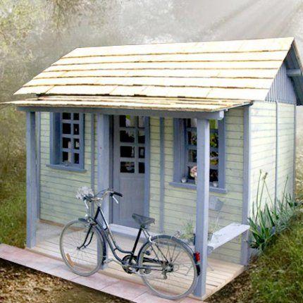 Nid douillet #cozy#nest -- Une cabane comme une maison de poupée