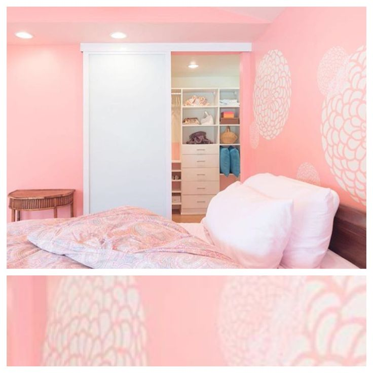 From Baby To Teen In This Pink Palace. Glass Closet DoorsSliding ...