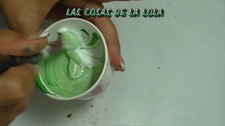 Curso de pintura clase 2ªA COMO HACER VEDIN, CARDENILLO PARA COBRE