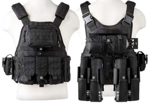 Special Offers - Tiberius Arms Paintball EXO Assault Vest  Black - In stock & Free Shipping. You can save more money! Check It (July 01 2016 at 01:13PM) >> http://airsoftgunusa.net/tiberius-arms-paintball-exo-assault-vest-black/