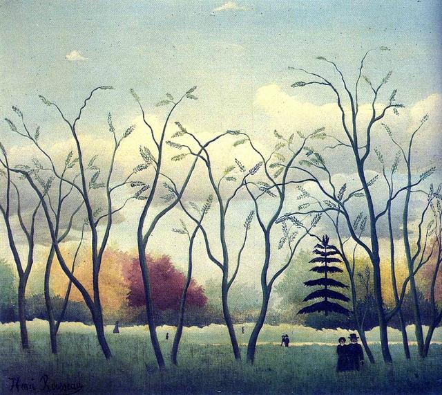 Henri Rousseau - In the park