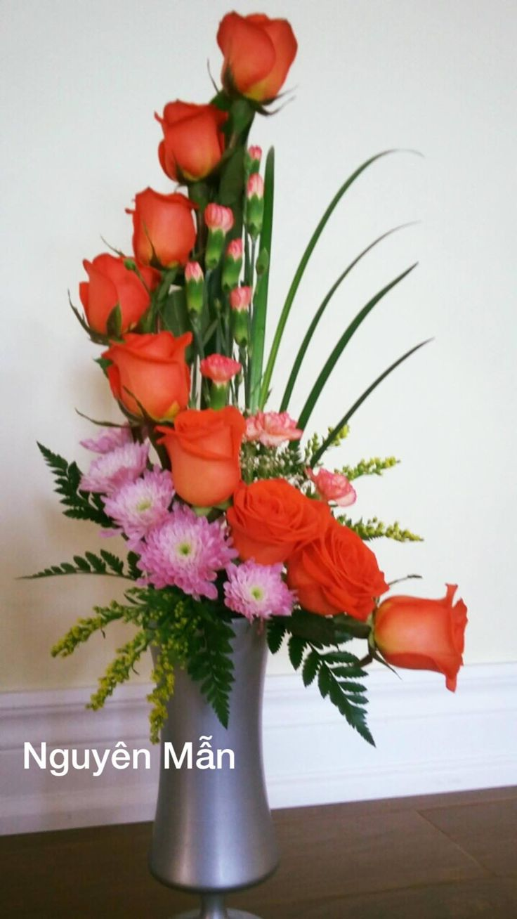 Flowers arrangements by Nguyên Mẫn