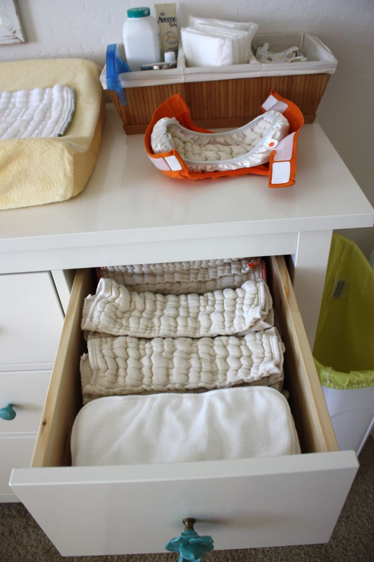 A great primer on organizing your stash! Then Comes Family also has a Cloth Diaper board with great tips and tricks!