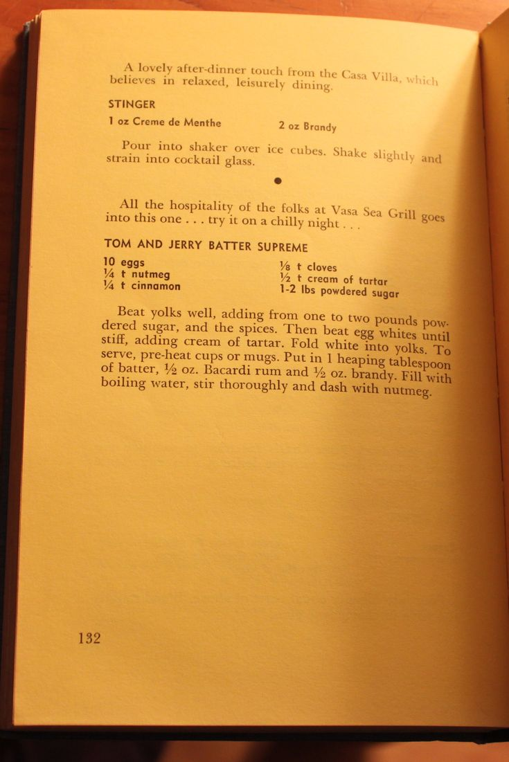 Tom and Jerry Batter Supreme recipe