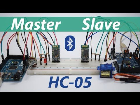 How To Configure and Pair Two HC-05 Bluetooth Modules as Master and Slave | AT Commands - HowToMechatronics