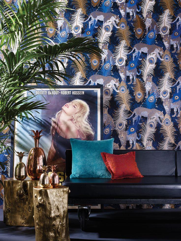 """Leopardo"" - Cubana fabrics."