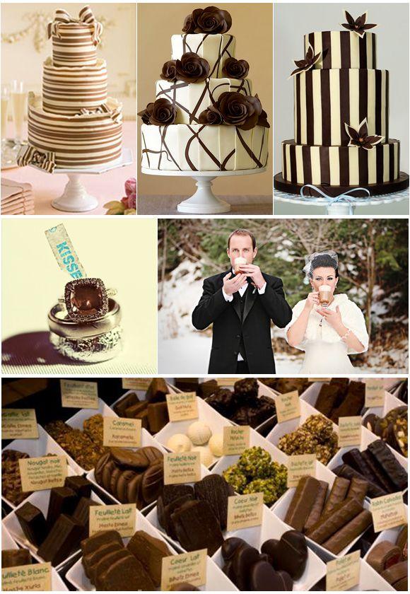 Chocolate Inspired Wedding Ideas