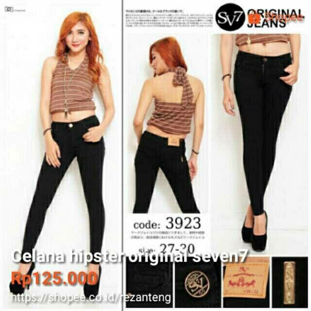 Temukan dan dapatkan Celana Jeans Hitam Hipster hanya Rp 125.000 di Shopee sekarang juga! http://shopee.co.id/bahri_online_store/8138703 #ShopeeID