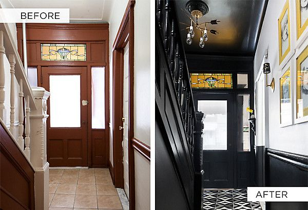 Foyer Tile Xbox One : Amazing style and bold choices an entryway makeover in