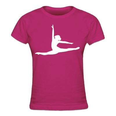 Ballett Tänzerin Frauen T-Shirt