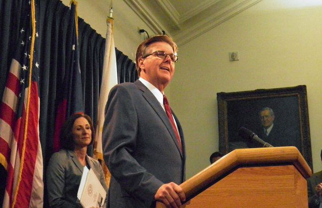 """Texas Lieutenant Governor Introduces Anti-LGBTQ Bathroom Bill. The """"Texas Privacy Act"""" has been marked as a top legislative priority for Lieutenant Governor Dan Patrick, a Republican and conservative Christian who guides the legislative agenda in the Republican-controlled state Senate."""