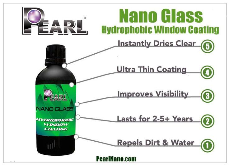http://goo.gl/j6zx1C - They simply slip off with the motion of the car. The pearl Nano Glass coating creates a scratch resistant, easy to clean surface. The Pearl Nano Glass coating protects the glass from erosion, and from stubborn salt spray staining and mineral deposits.