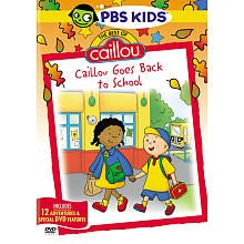 Best of Caillou: Caillou Goes Back to School DVD