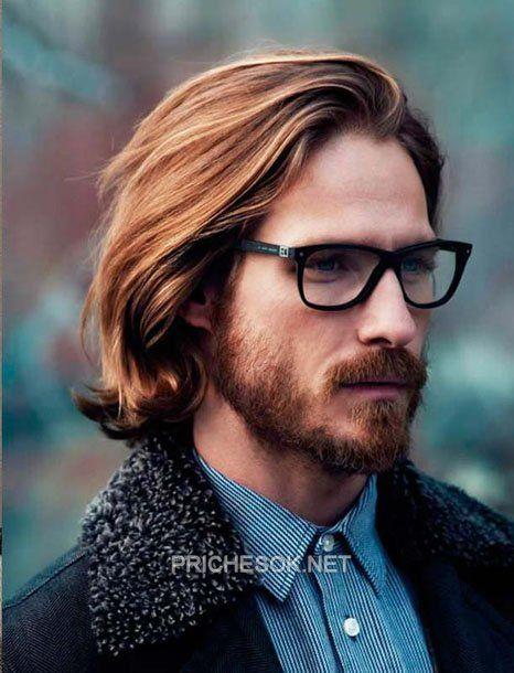 Модные мужские прически и стрижки на длинные волосы, фото
